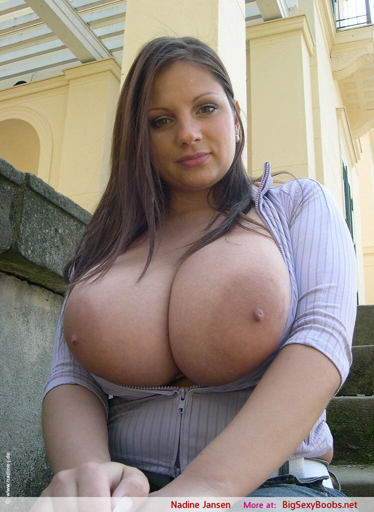 Big tits nadine