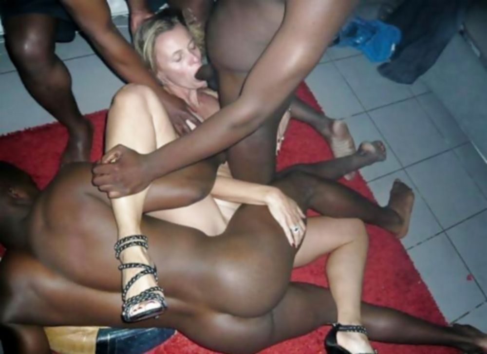 Black Milf Loves White Cock