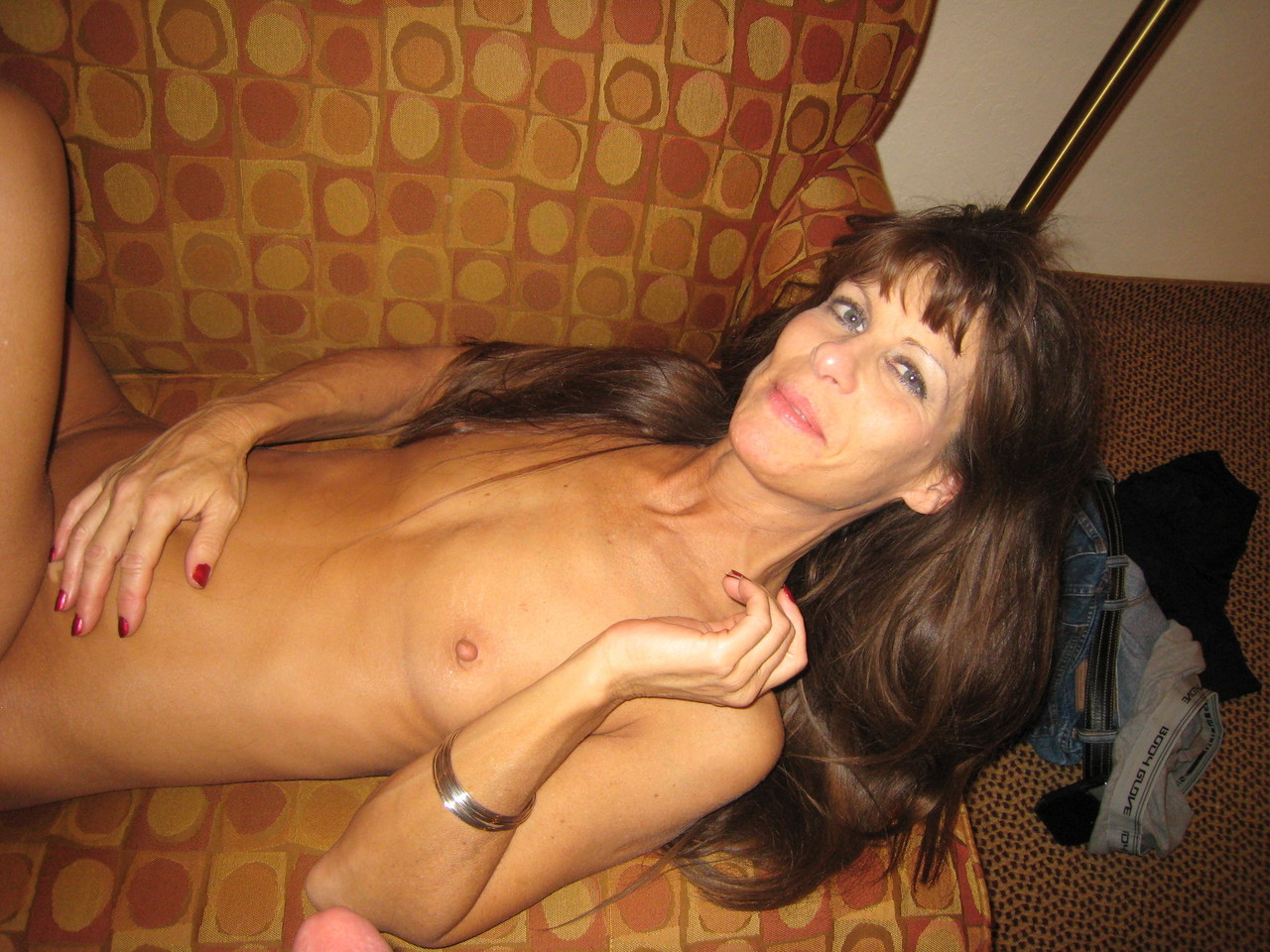 Chested milf flat FLAT CHESTED