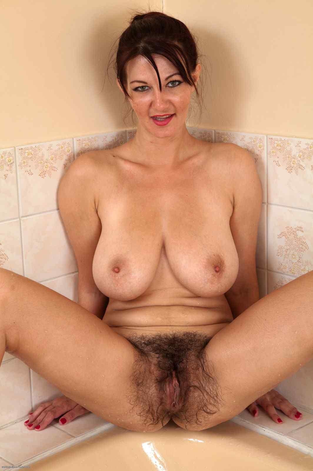 Very hairy mom