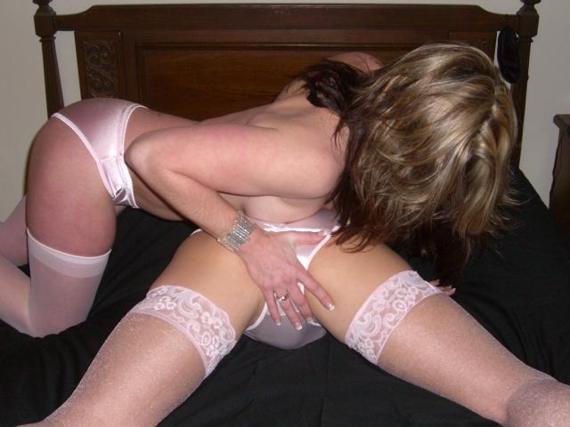 Young Girl Wearing Panties