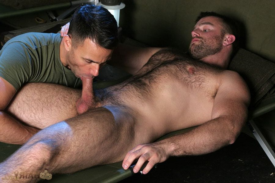 Broken military men gay sex