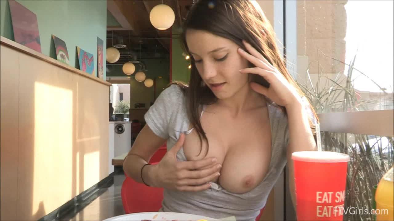 The boob flash pics out haha