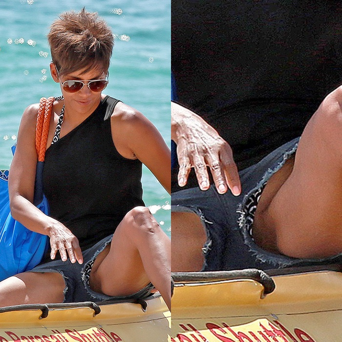 Halle berry nude pussy