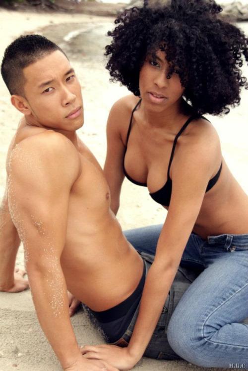 Girls men love black asian that