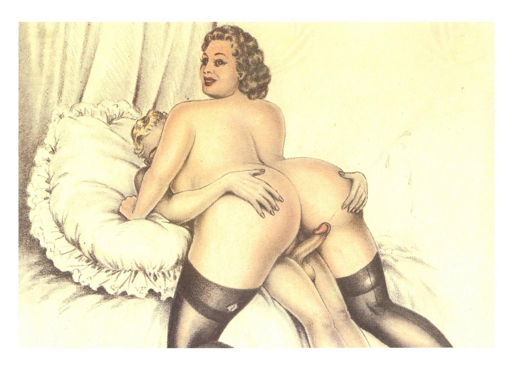 Ретро-порнокартинки