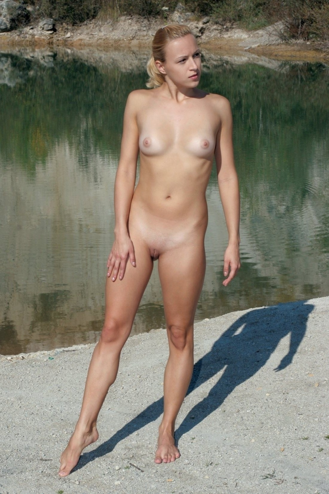 Nude girls europe beach