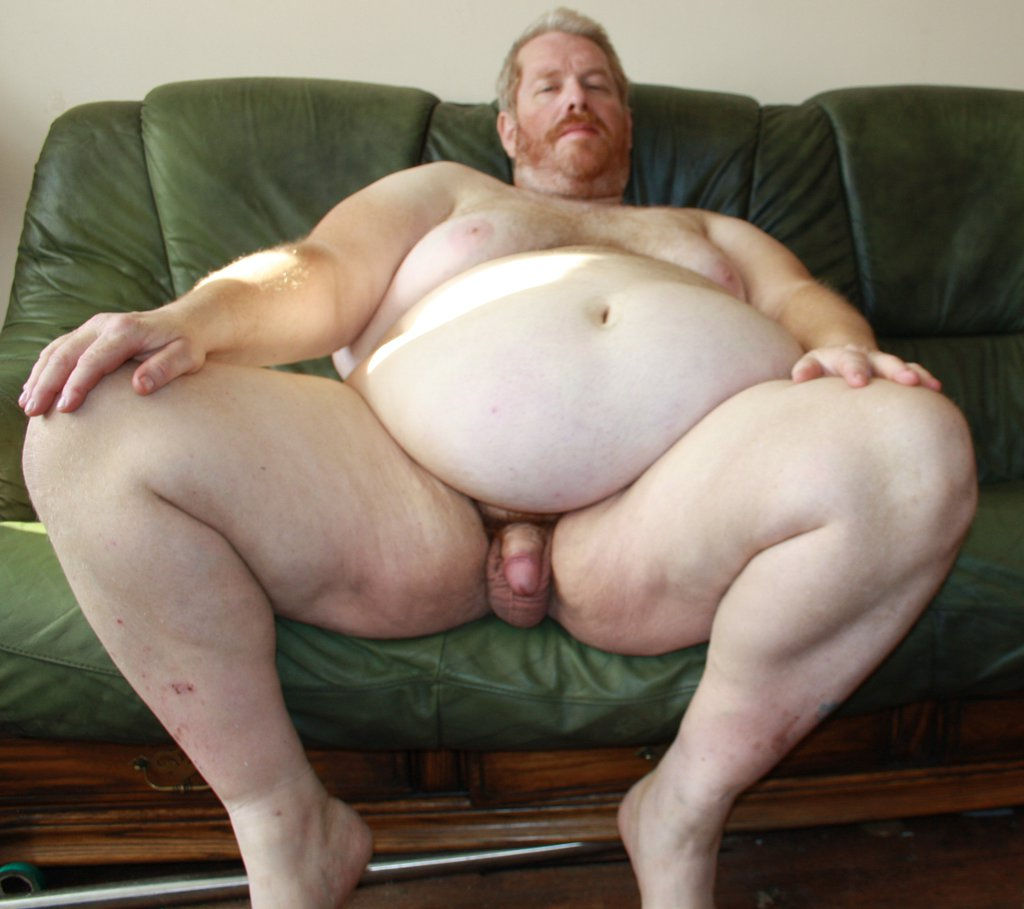 Nude Man Old Fat#2