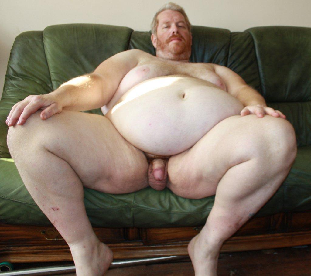 голые жирные люди