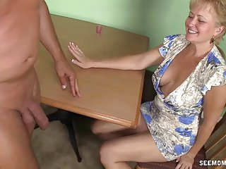 Horny mature super