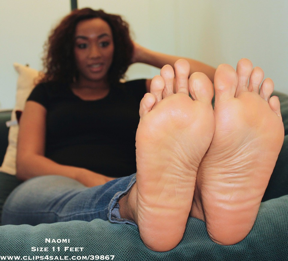 Ebony feet com
