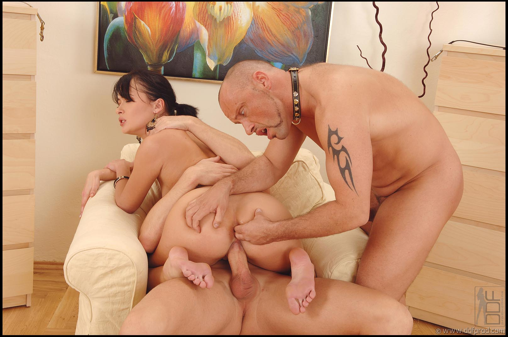 Mom showing son how to fuck