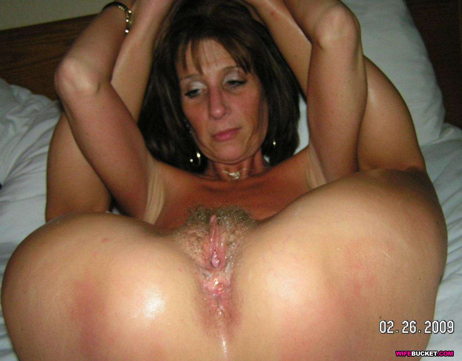 Black on white milf