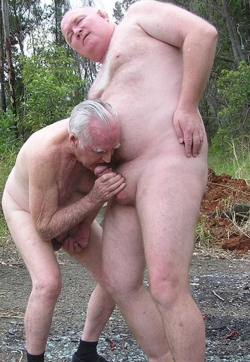 Mature men having gay sex they kiss