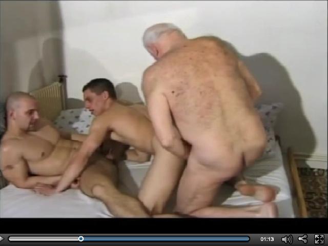 Naked Grandpa Fucks Young