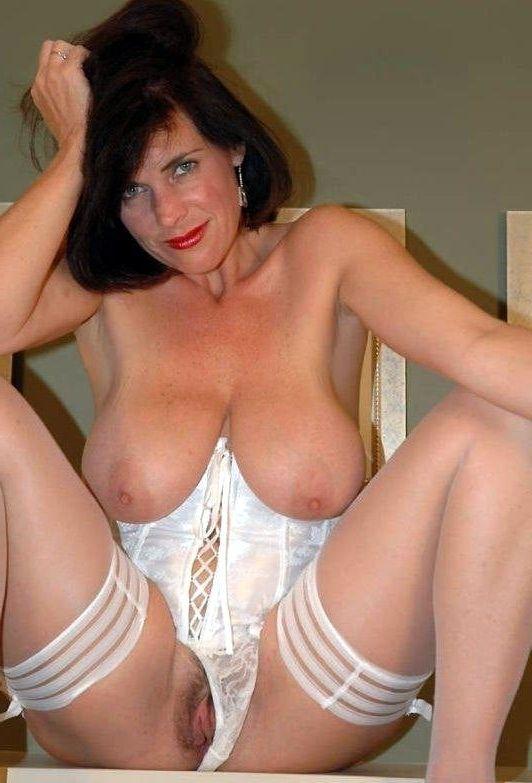 Lingerie in mature corsets women