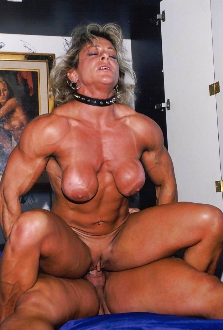 Cock female bodybuilder porn