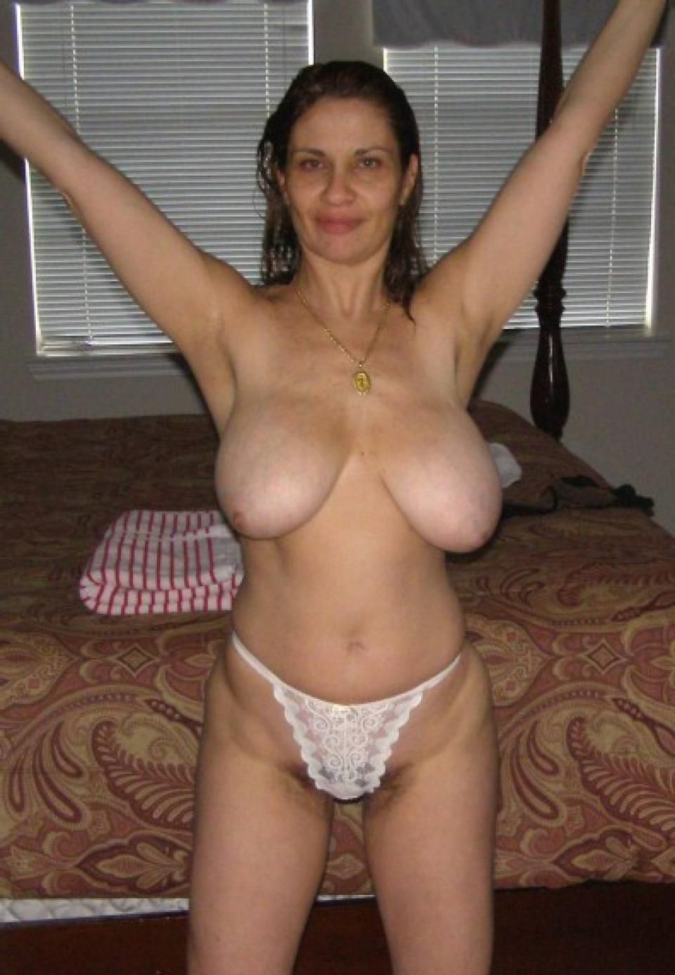 Amateur milf got big boobs
