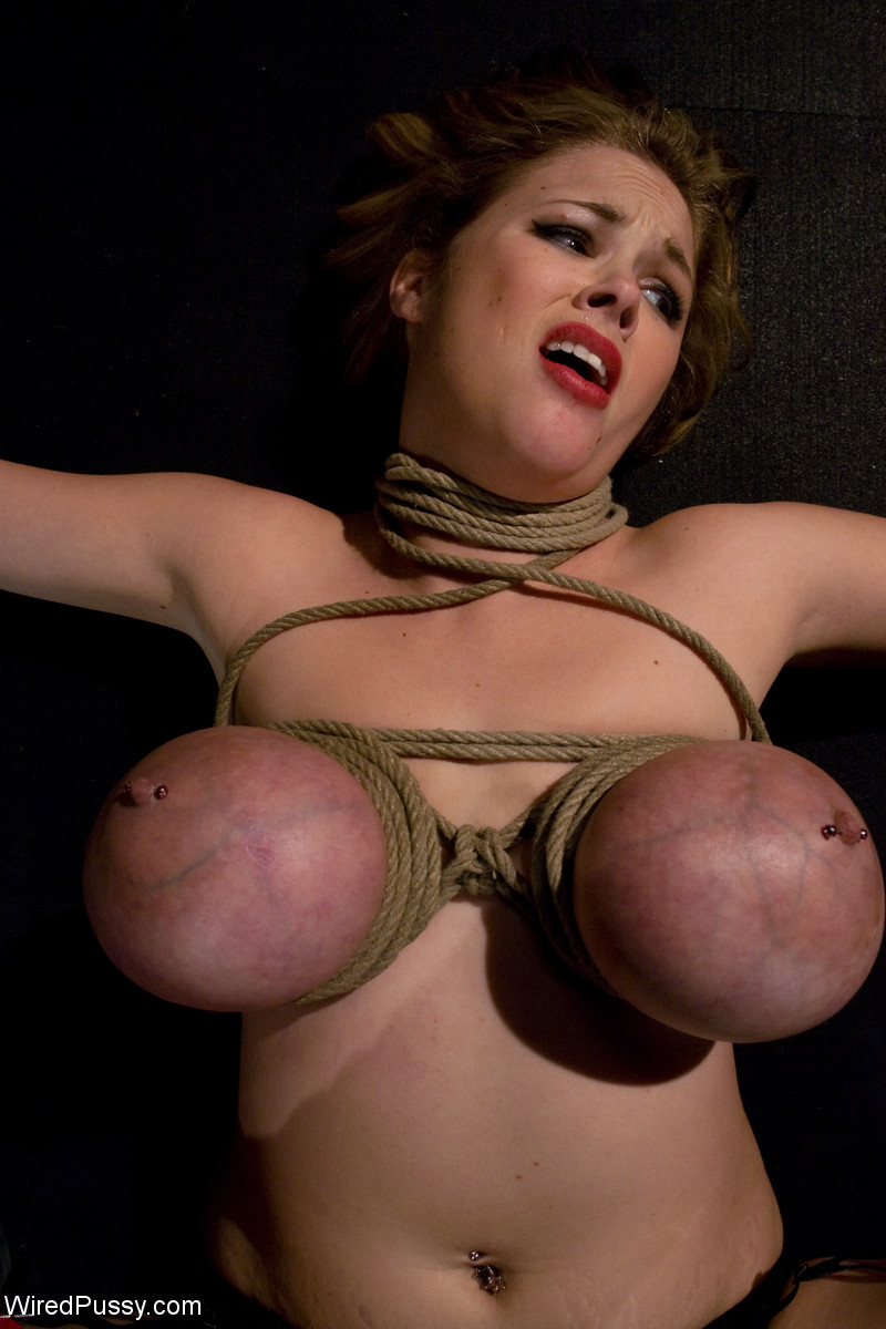 Think, big tit bondage