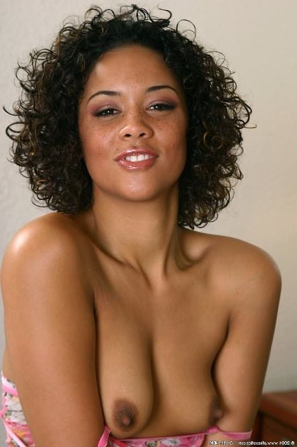 Naked light skinned black women
