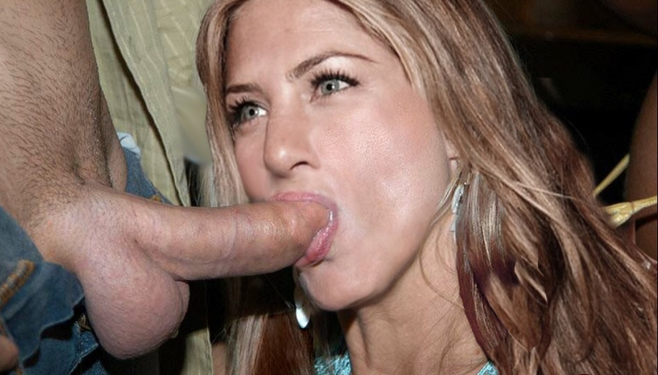 Jennifer aniston blowjob xxx photos