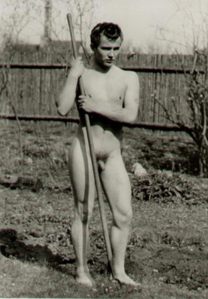 naked boys vintage