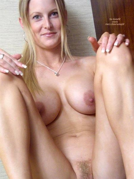 Natural blonde nude wives