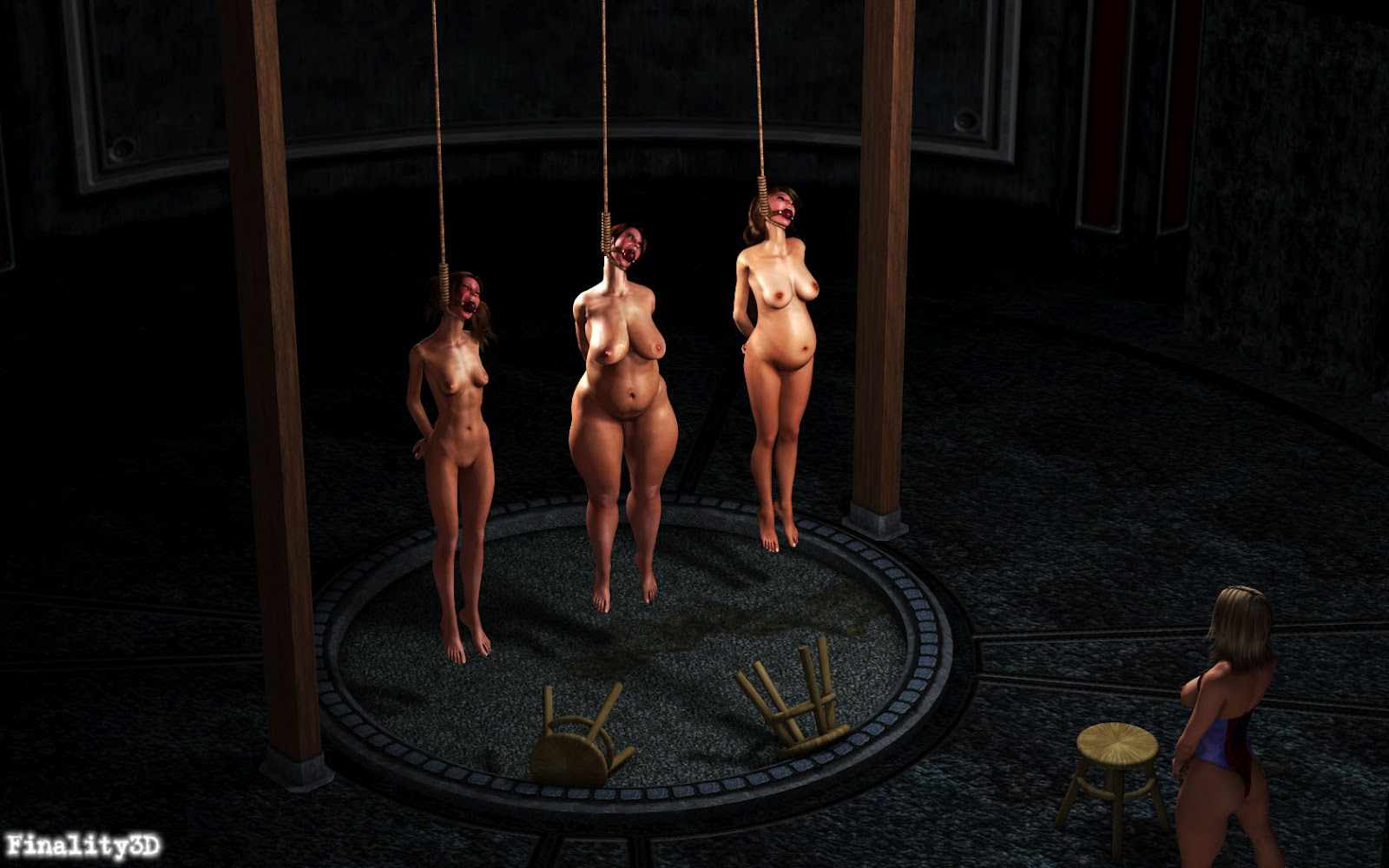 Female crucifiction torture bdsm tube