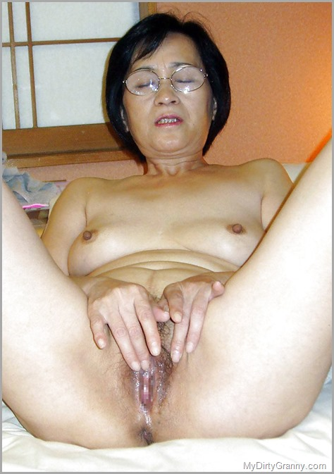 Nude old chinese women