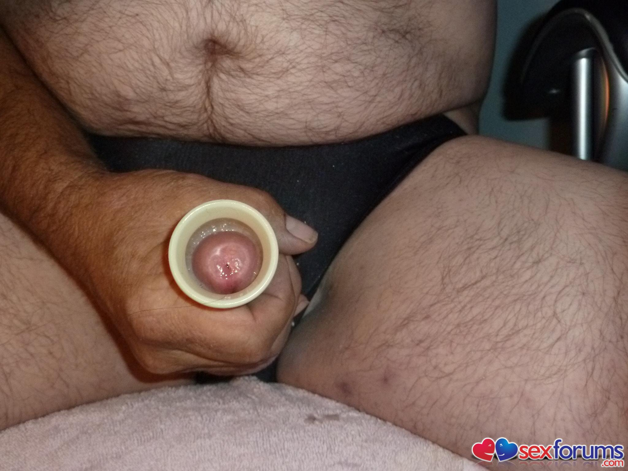 guys using a homemade sex toy