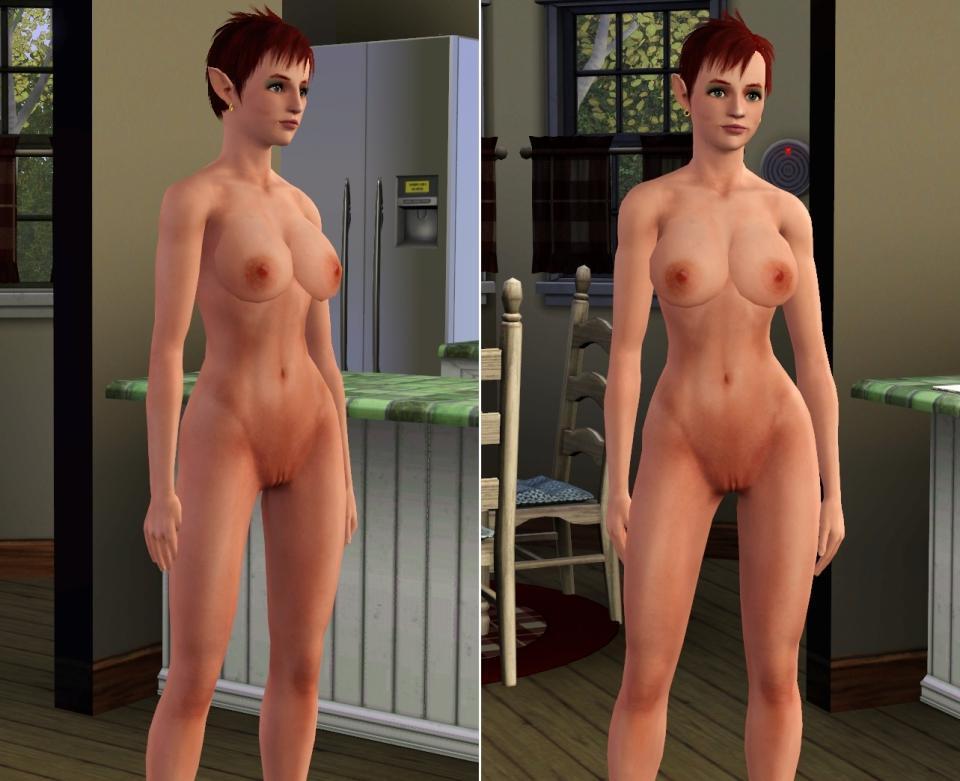 naked tomoko sim girl