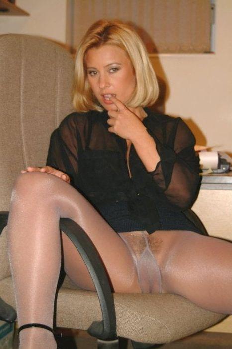 Spanking Pantyhose Tights Female Executives