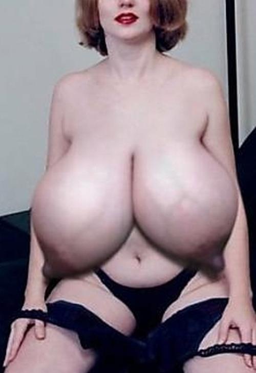 Huge Lactating Tits