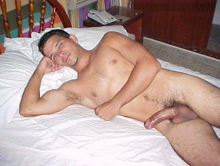 hung naked straight men