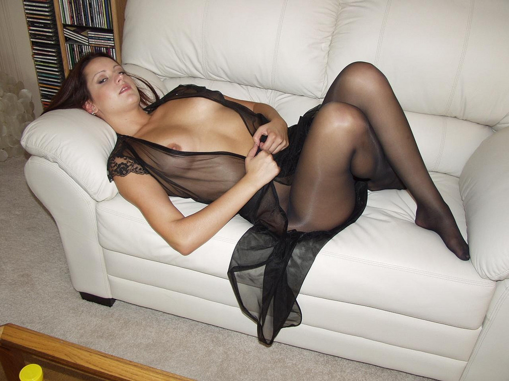 Pantyhose with sex