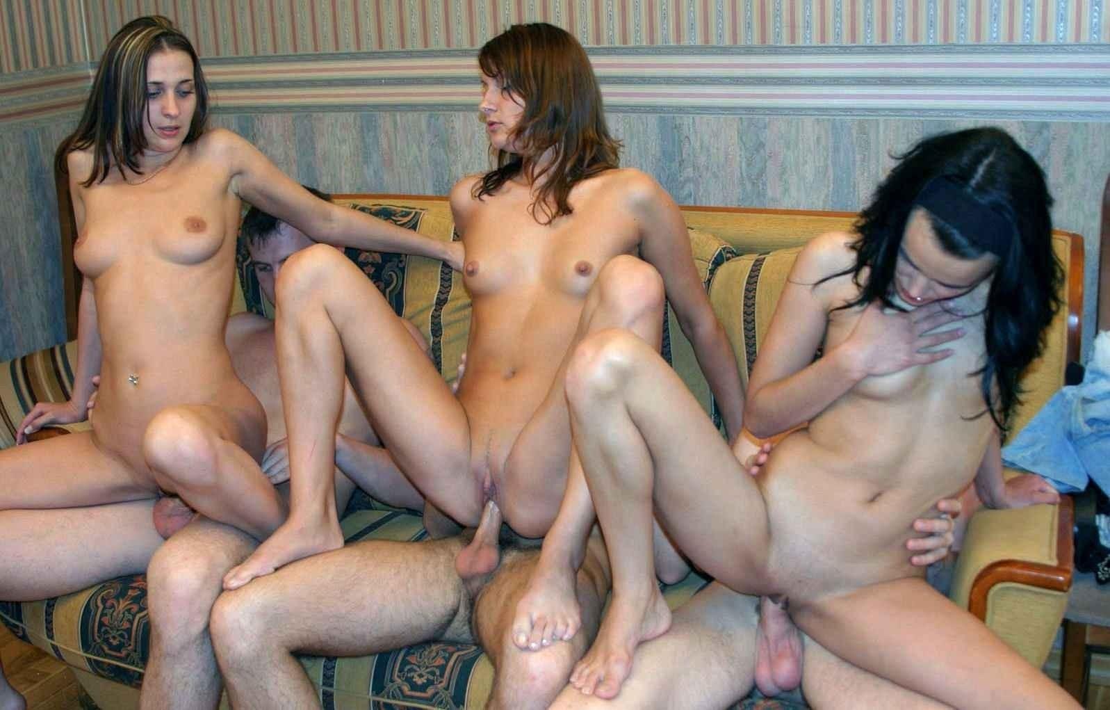 Nude Female Orgy