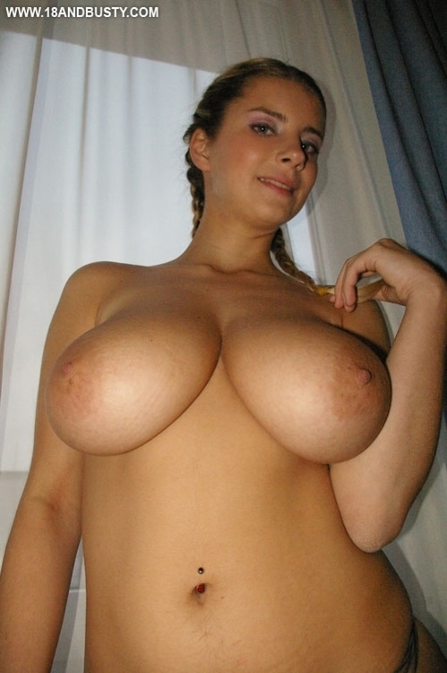 Huge Natural Tits Cowgirl