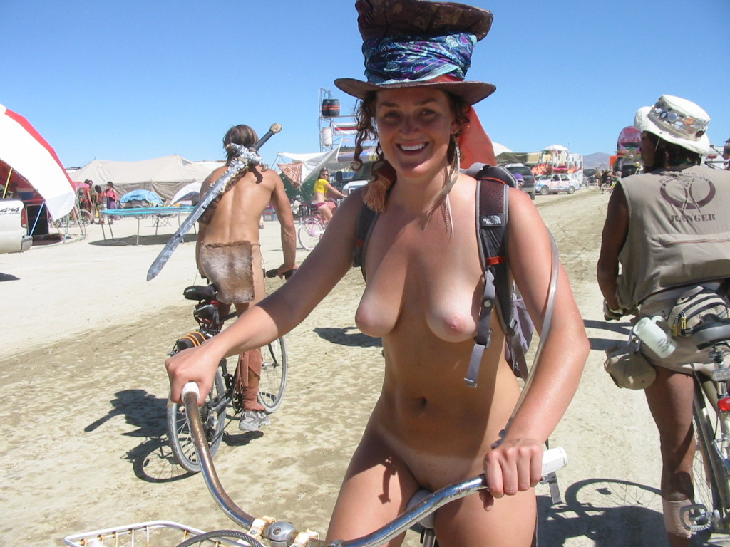 burning man pussy showing