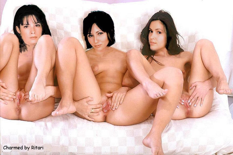girls from charmed naked and sex