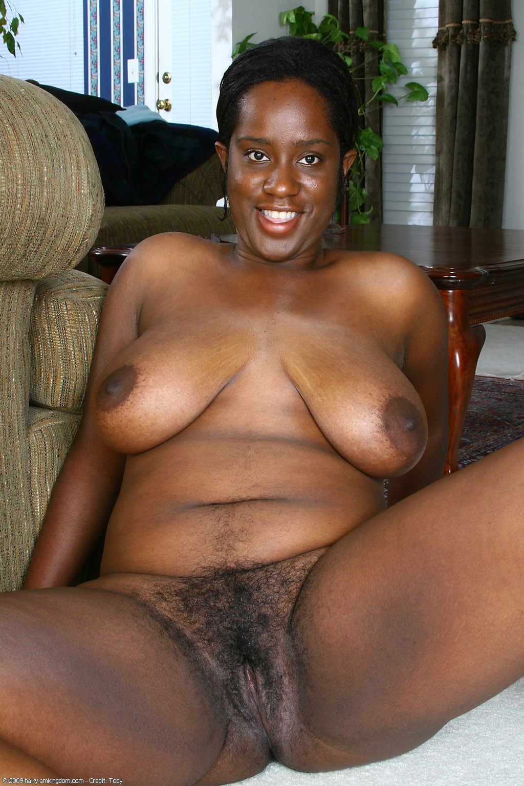 chubby ebony hairy