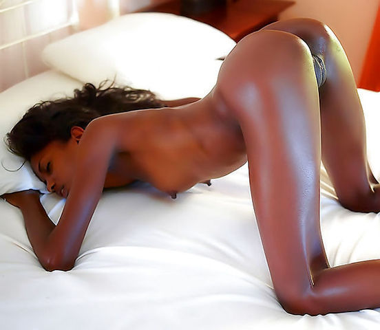 Black Naked Booty Shaking