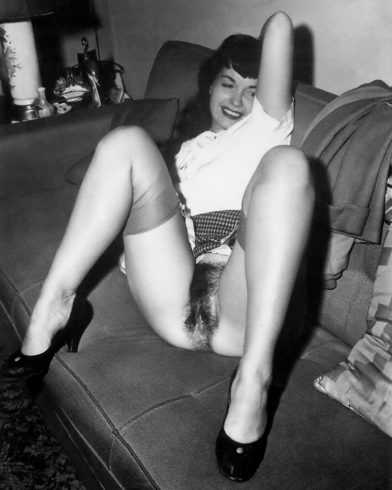 Betty nackt Page Bettie page