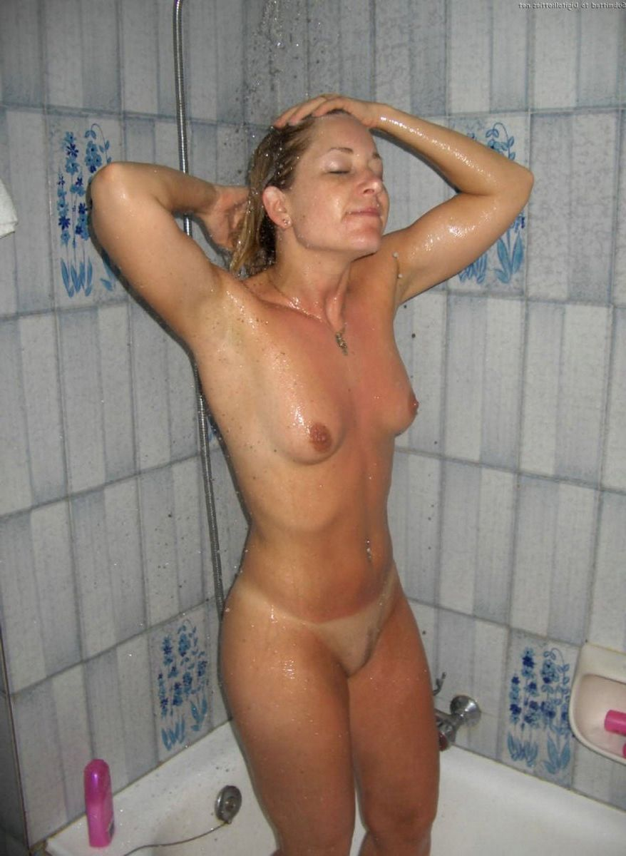 Sex with wife in shower