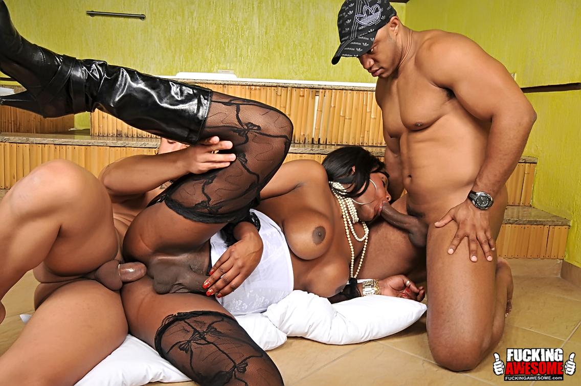 Black tranny gangbang porn full hd photos