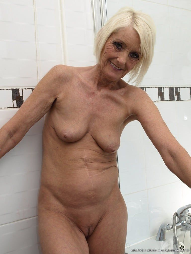 Old shaved pussy over 60