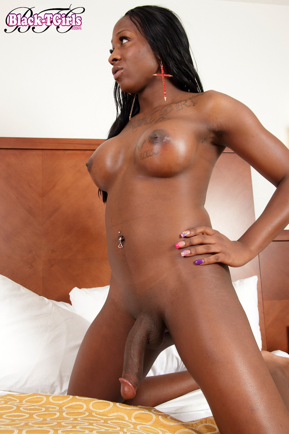 Stroking Big Black Dick Solo