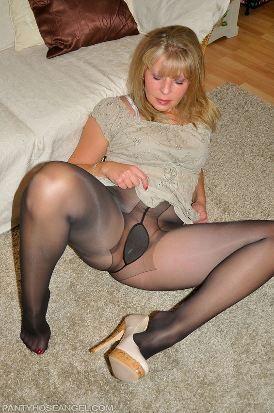 Amateur Pantyhose Fetish - YouTube