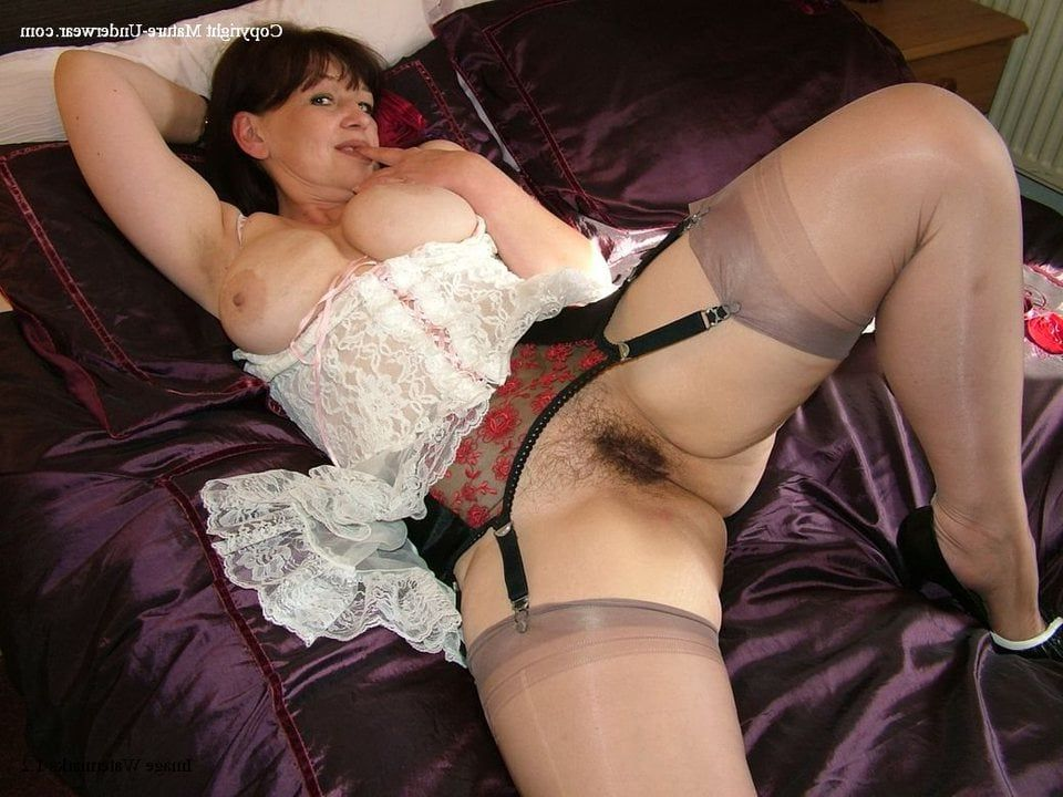 xxx stocking woman