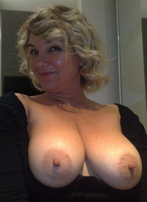Mom son boob please