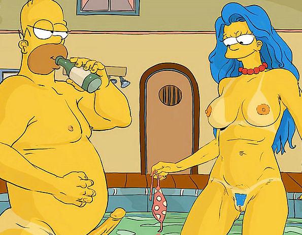 Симпсоны порно видио